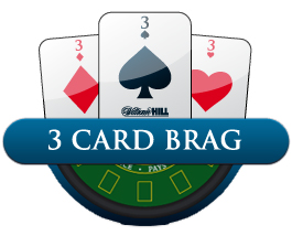 play 3 card brag online