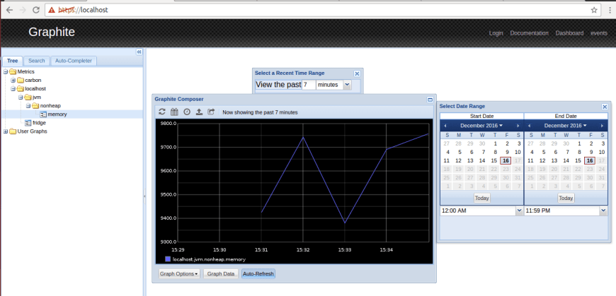 Graphite Metrics for building a Riemann monitoring System