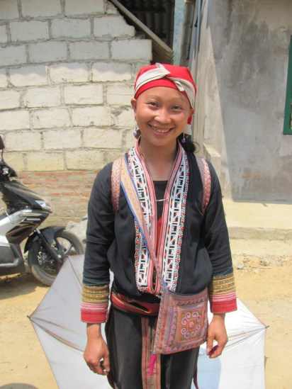 A woman from the Red Tao tribe