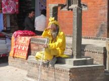 A saddista or spiritual man who owns nothing.
