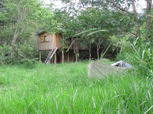 One of the eco- cabins.