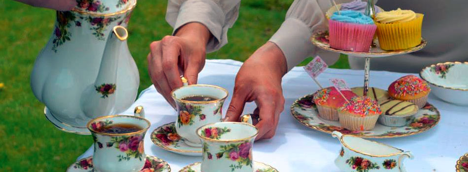 Vintage China Tea Sets and Crockery available to hire Northern Ireland