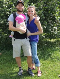 family trip to Randall Orchard