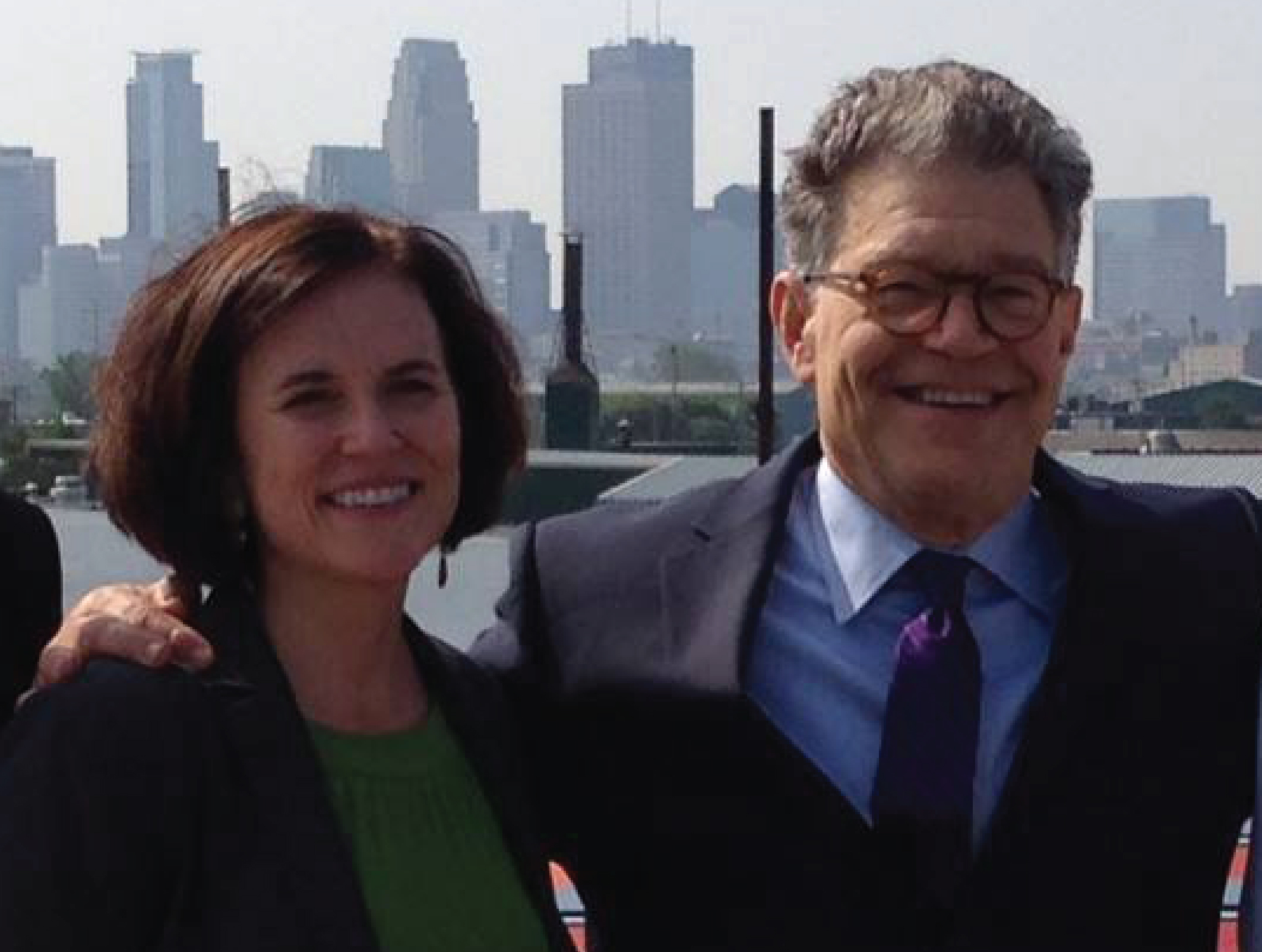 Press Release: Mayor Hodges Announces Senator Al Franken's Endorsement