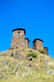 Towers in upper Umalo