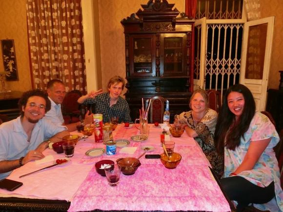 One of our last dinners at Mr. Kato's.