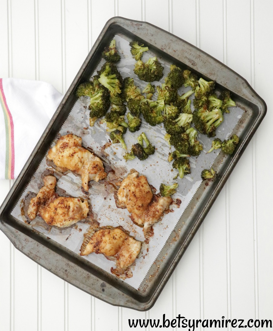 Sheet pan meals ready in 30 minutes or less.