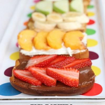 Fruity Rainbow Toast