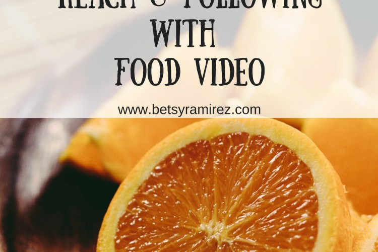 Food Video Will Increase Your Facebook Reach and Following