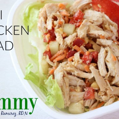 Meal Prep Thai Chicken Salad