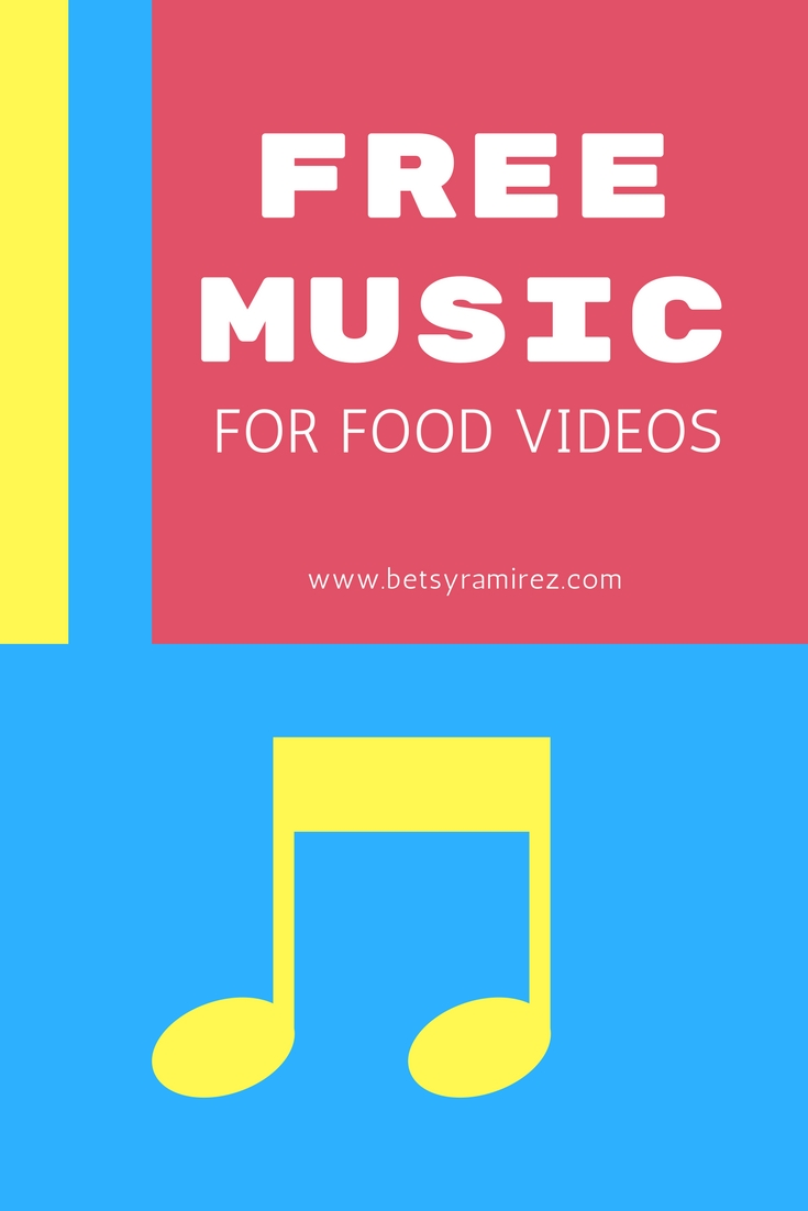 My 3 Favorite Royalty Free Music Sites For Food Videos