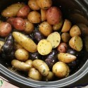Slow Cooker Herb Potatoes