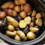 Slow Cooker Herb Potatoes
