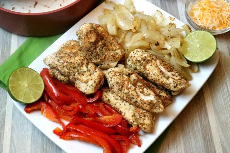 30 Minute Sheet Pan Chicken Fajita Dinner
