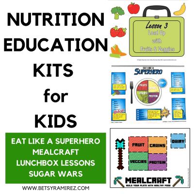 Nutrition Education Ideas for Kids