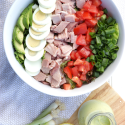 Cobb Salad with Avocado Dressing (Dairy Free)