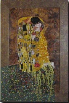 Reproduction - Klimt, The Kiss