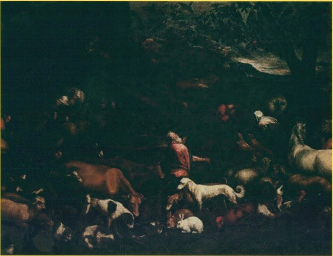 Animals Entering Noah's Ark