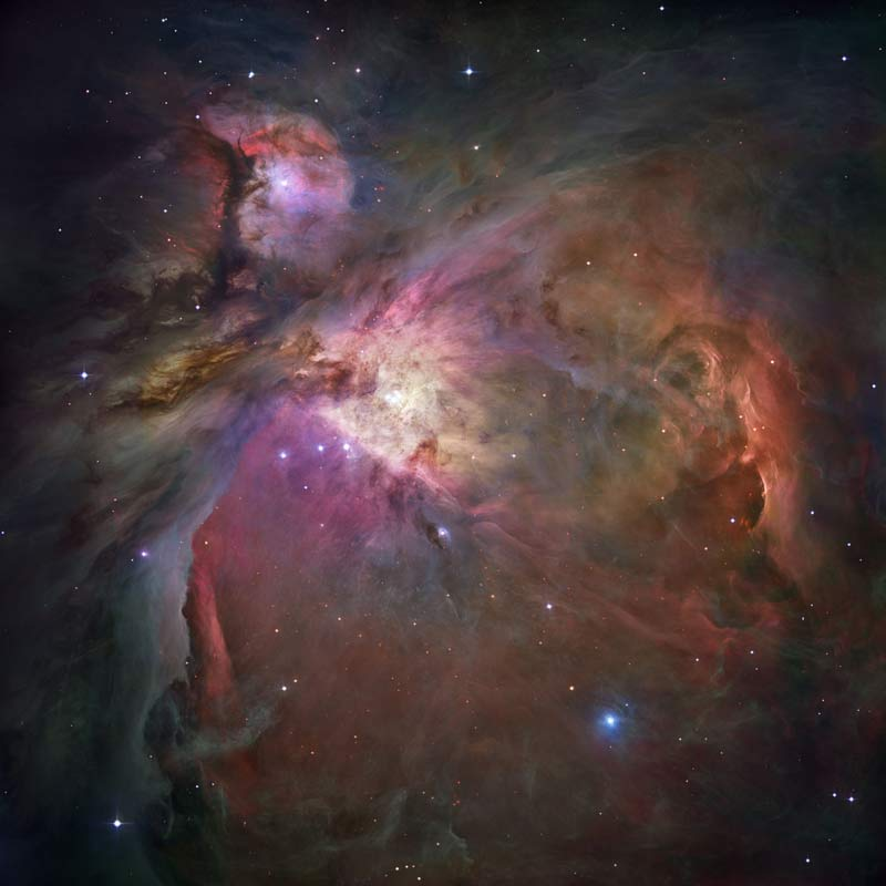 Orion Nebula photo, by Hubble telescoope