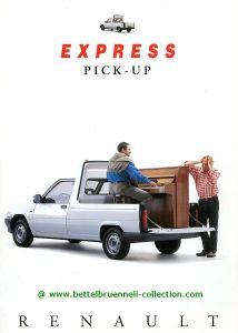 Renault Express Pick-Up 1995 Prospekt 001-001h