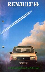 Renault R14 1982 Prospekt 001-001h