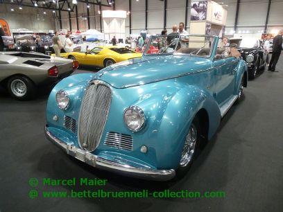 Delahaye 135 MS Cabriolet Worblaufen 1947
