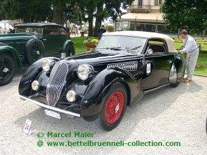 Alfa Romeo 6C 2300 B Cabriolet Worblaufen 1938 002h