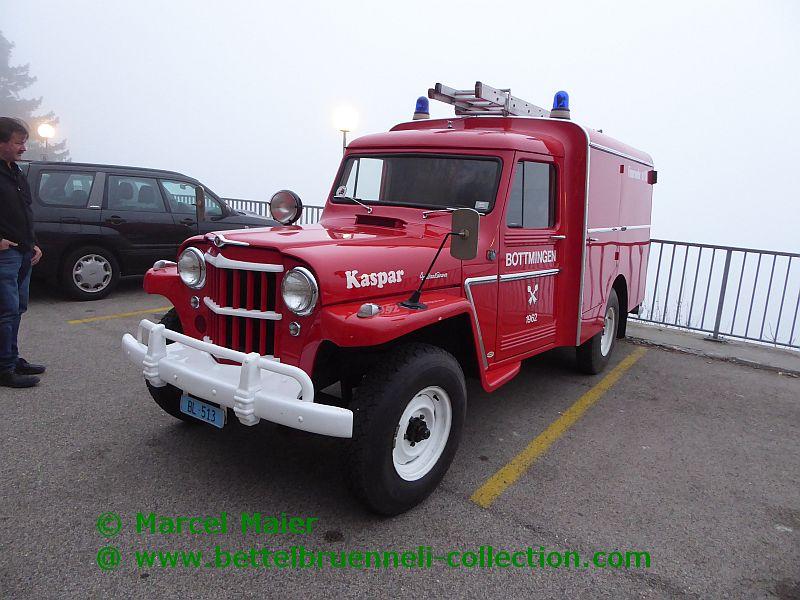 Willys-Overland Truck Feuerwehr Bottmingen 1962 Wenger 005h