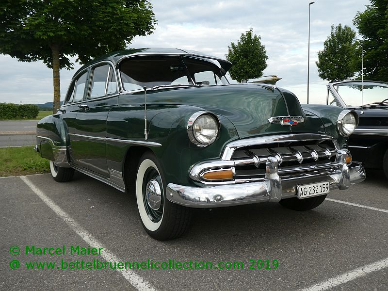 Chevrolet Styleline De Luxe 1952, by GM Montage Suisse (Biel)