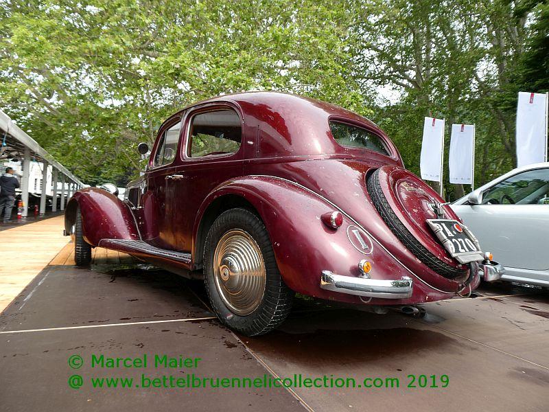 Alfa Romeo 6C 2300 B Pescara Berlina 1937, by Touring