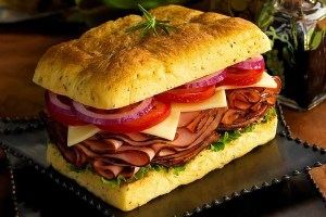 ham sandwich for Caroline Sweetwater