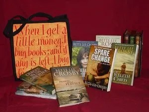 books and totebag giveaway