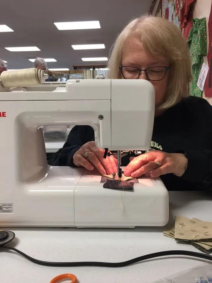 Elizabeth sewing 2