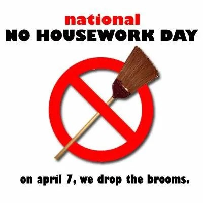 no-housework-day