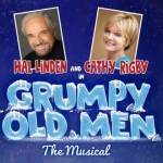 Cathy Rigby and the cast of Grumpy Old Men