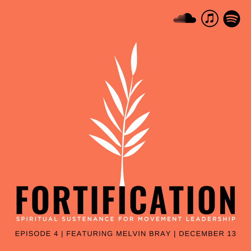 Author Melvin Bray on the Fortification Podcast