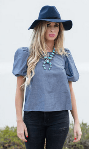 summer fashion: Le Pouf Blouse by Kate McHale Jensen