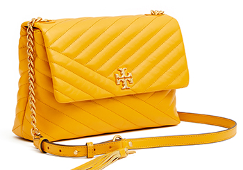 Mother's Day Gifts: Kira Chevron Flap Shoulder Bag, $528, Tory Burch