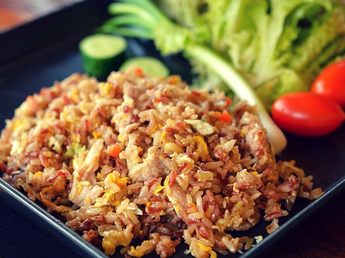 arroz integral por arroz blanco