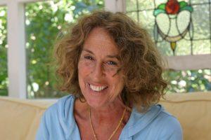 Nancy Aronie loving her wrinkles