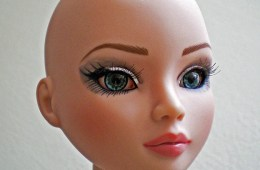 bald is beautiful woman
