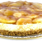 Apple Pie Topped Cheescake Made Skinny