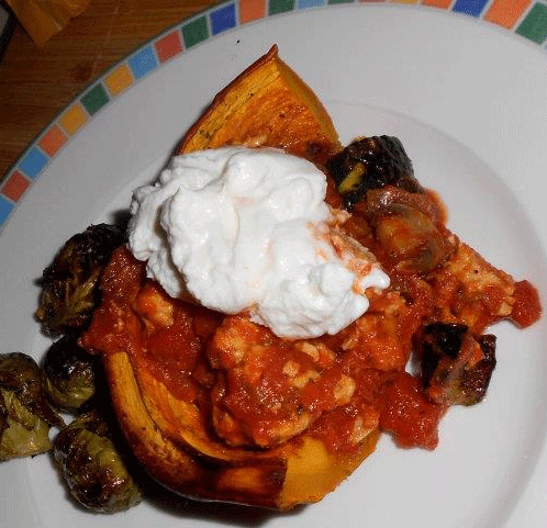 Fall Comfort Food Pumpkin and Ragout
