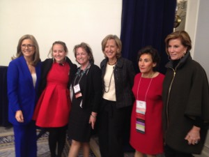 Meredith Vieira, Alexa Von Tobel, Mindy Meade, Felice, Beth Bronfman, Molly Ashby