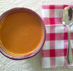 carrot chestnut soup