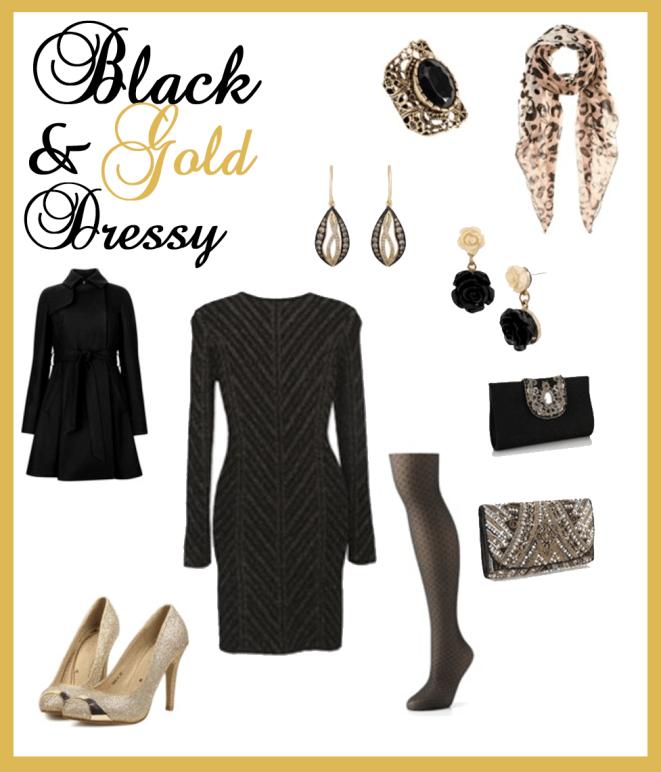 black-gold-dressy