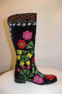 Suzani style boots, brought to you by Better After 50