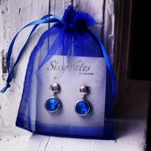 Sissy Yates Designs Gretchen Earrings in Blue