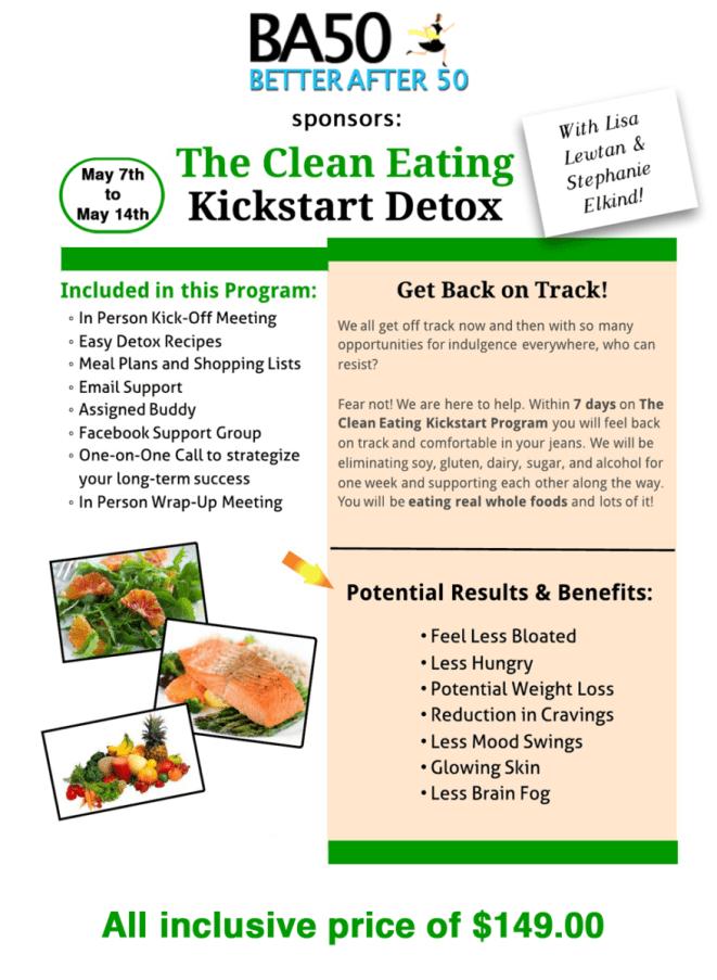 BA50- The Clean Eating Kickstart Detox - Flyer3