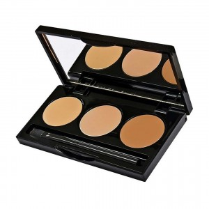 What I love about the Senna HD Hydra Cover Concealer is that each pallet comes with 3 different shades.